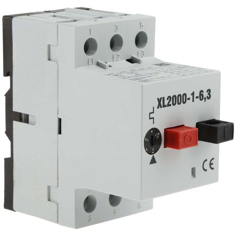 Interrupteur de protection moteur RS PRO, 690 V, 4 → 6 A