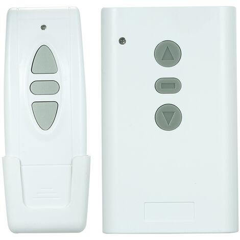 Interrupteur De Telecommande Sans Fil Rf Intelligent Et Telecommande 1Pcs A 3 Cles, 2 Canaux