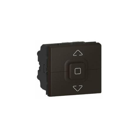 Interrupteur de volets roulants 500W Mosaic - 2 modules - Noir mat - 079126L - Legrand