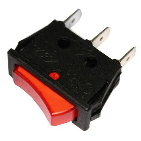 Interrupteur d'éclairage encastré étroit 16 à 11x30 emballé