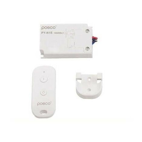 Interrupteur déporté ON / OFF 1000 W avec télécommande