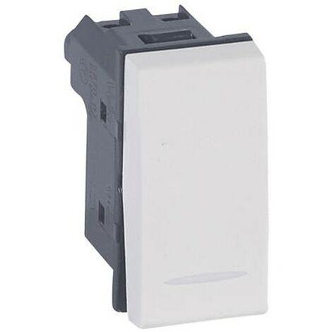 Interrupteur déviateur Legrand Vela blanc 10A 687003