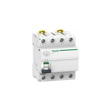 Interrupteur diff 4P 100A 300mA type AC