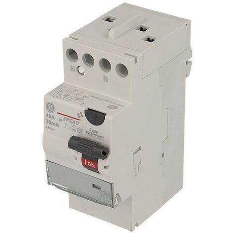 Interrupteur différentiel Unibis 30mA 2P - à Vis - type AC