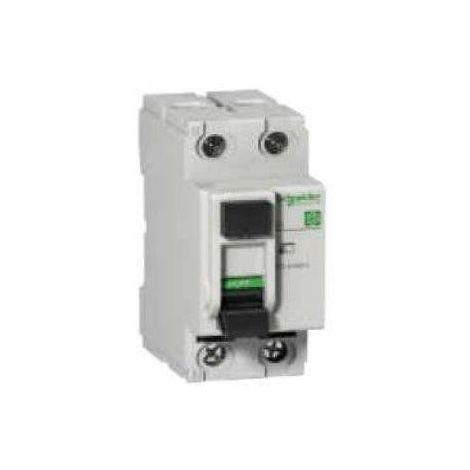 Interrupteur differentiel 25A 4P 30mA type A tri 380V bornes vis DOMAE SCHNEIDER 16697