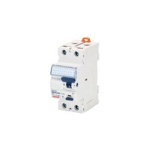 Interrupteur différentiel - 2P - 40A - 30mA - Type AC