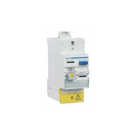 Interrupteur différentiel 30 mA - A et AC - de 25 à 63 A - Sans Vis