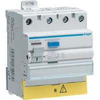 Interrupteur différentiel 3p+n 63a 30ma type ac à bornes décalées