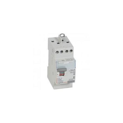 Interrupteur différentiel 40A bipolaire 30 mA Type F - 411623 - Legrand