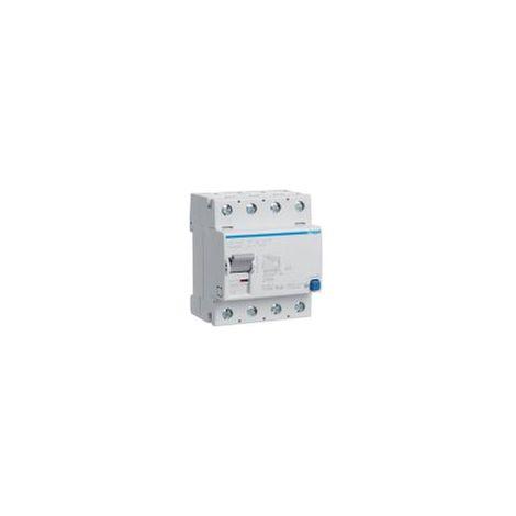 Interrupteur différentiel 4P 40A 30mA type B HAGER CDB440F