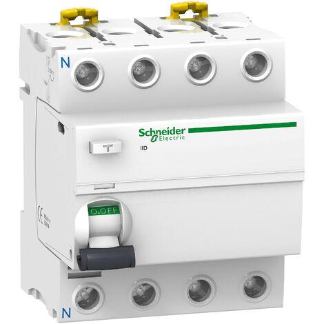 Interrupteur Différentiel 4P 63A 30MA ASI Schneider Electric ACTI 9