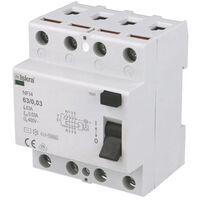 Interrupteur Différentiel 63A / 30mA / type AC / Tétrapolaire Iskra