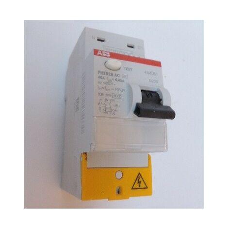 Interrupteur différentiel 63A ABB F202S A-63A/30mA