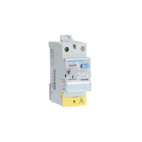 Interrupteur différentiel 63A bipolaire - type AC - A vis - CDC163F - Hager