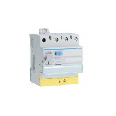 Interrupteur différentiel 63A tétrapolaire type AC - CFC863F - Hager
