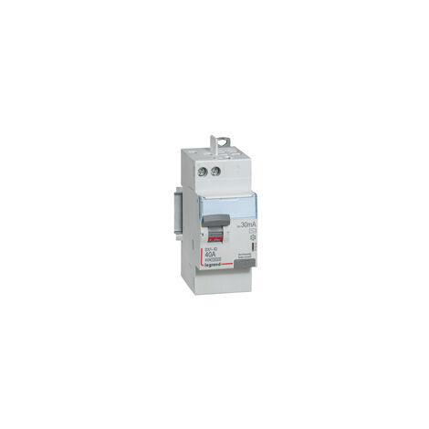 """main image of """"Interrupteur différentiel automatique 40A Legrand ID DX 3 type AC Sans Vis 2P 30mA"""""""