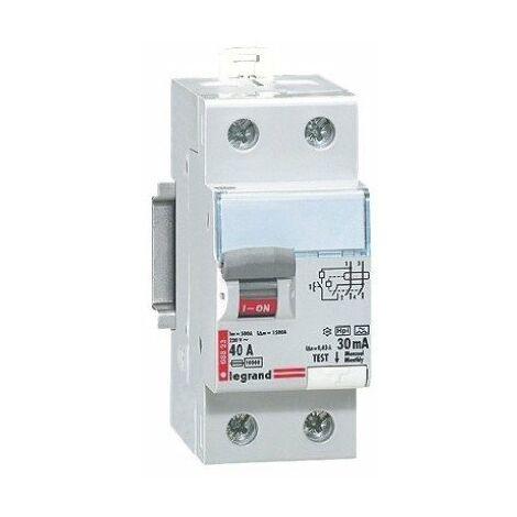 Interrupteur différentiel bipolaire - type hpi bg a raccordement direct par peigne 40