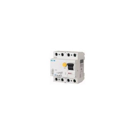 Interrupteur différentiel électronique FRCdM 30mA 4P Type G/A 40A EATON FRCDM-40/4/003-G/A