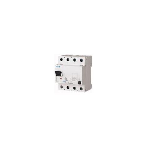 Interrupteur différentiel FRCmM 30mA 4P Type G/A 125A EATON FRCMM-125/4/003-G/A