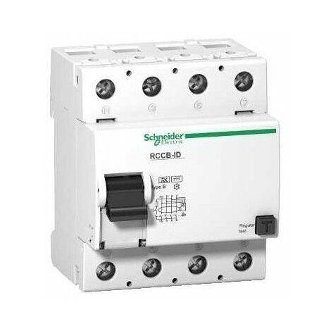 Interrupteur différentiel ID Type B - 4P - 125A - 300 mA