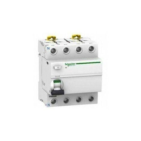 Interrupteur différentiel ilD tétra acti9 - AC - 40 A - sensibilité : 100 mA