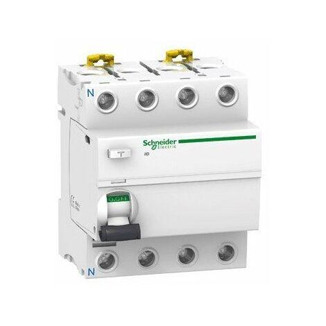 Interrupteur différentiel ilD type AC 4P - 100 A - 300 mA sélectif