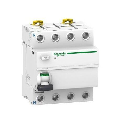 Interrupteur différentiel ilD type AC 4P - 80 A - 300 mA sélectif