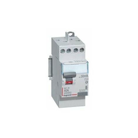 Interrupteur différentiel Legrand 25A ID DX3 type AC 2P 30mA