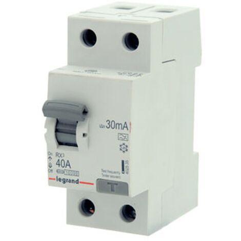 Interrupteur différentiel Legrand - 'RX3' 2 pôles 30 mA