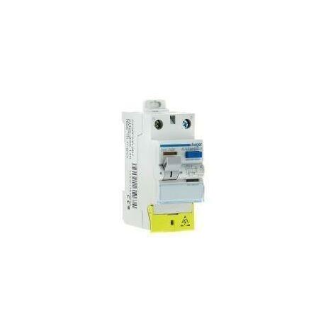 Interrupteur differentiel - monophasé - 40/63 A - TYPE A ET AC - HAGER