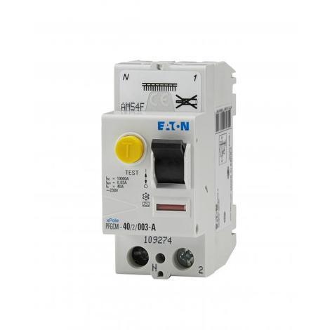Interrupteur différentiel monophasé 40A - type a ou AC - Moeller - 30 mA