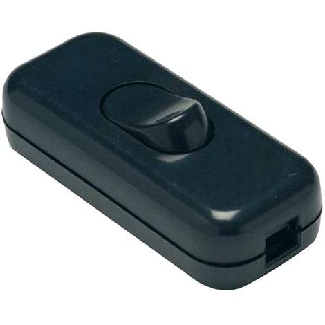 Interrupteur électrique 2A-250V Pass-Through 60X147X30 Black Pvc Famatel