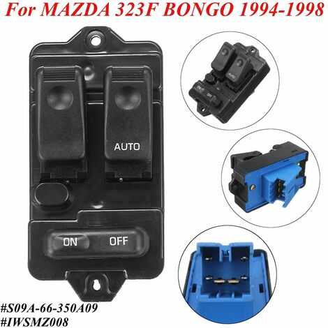 """main image of """"Interrupteur Electrique ABS de Lève-vitre Pour MAZDA 323F BONGO 1994-1998"""""""