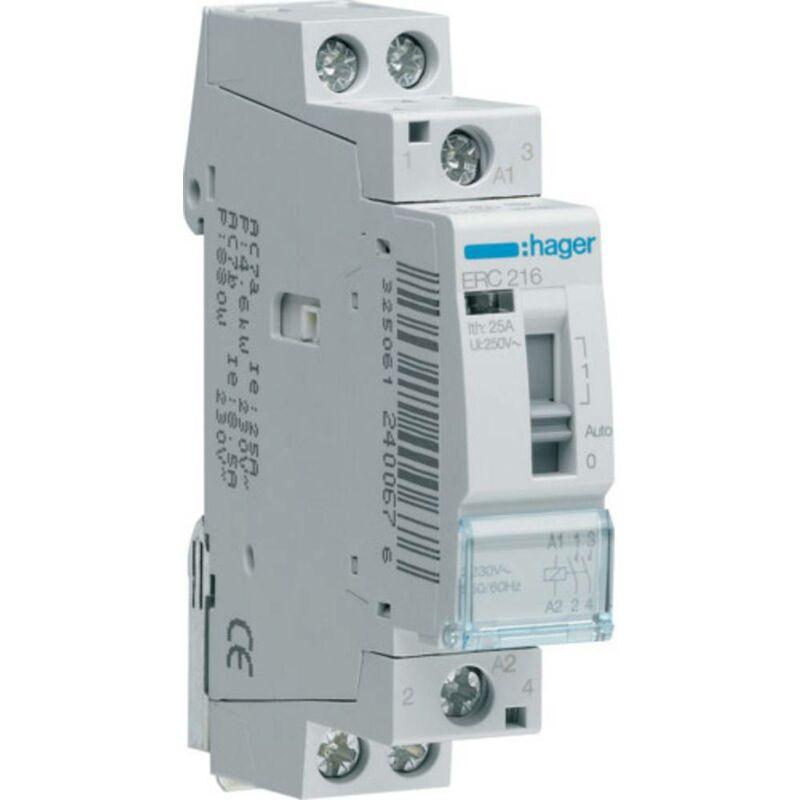 40/A 230/V 2/Na Hager esc240s Contacteur Silencieux