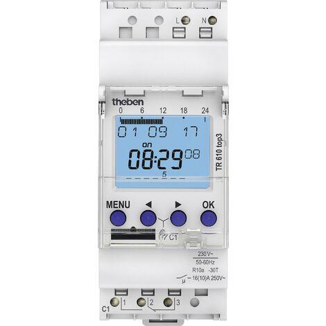 Interrupteur horaire numérique TR610 top3 X964791