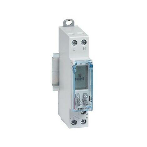 Interrupteur horaire programmable - Standard hebdomadaire 230V - 16A - 1 module