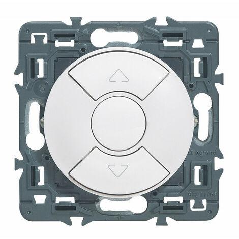 Interrupteur individuel de volets roulants Céliane Blanc (099740)