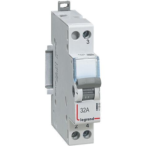 Interrupteur-inverseur - va et vient 250 V~ - 1 module