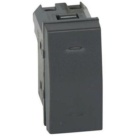 Interrupteur Legrand Vela Scura 1P 10A 683076