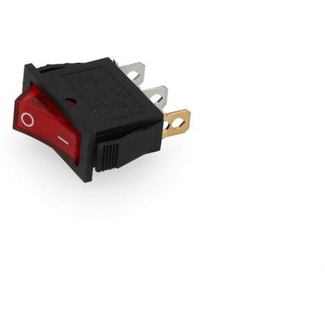 "main image of ""Interrupteur lumineux encastrable fin16a 11x30 sous emballage"""