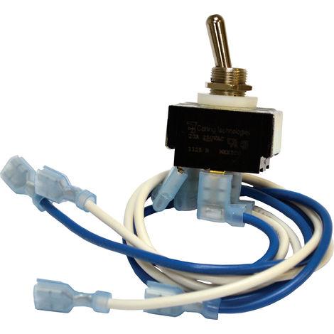 Interrupteur marche/arrêt RSACDC pour être utilisé avec Inverseur RSAC-24D, Inverseur RSDA-24D
