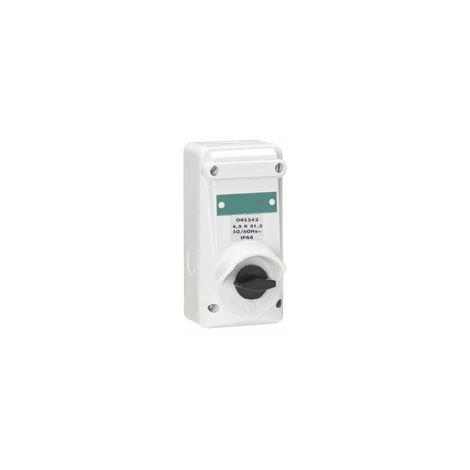 Interrupteur ML - 10 A - IP 44 - 250 V~ - Bipolaire avec coupe circuit - plast