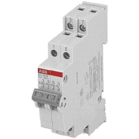 Interrupteur Modulaire 4 pôles 32A ABB