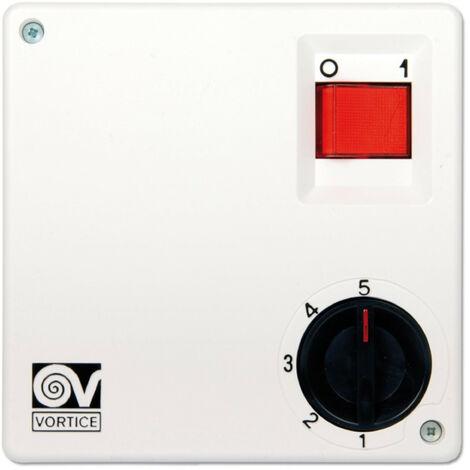 Interrupteur mural / Transformateur Vortice SCNR5 / SCNR5-CA / SCNRL 5