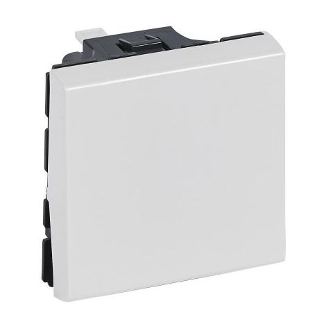 Interrupteur Ou Va-et-vient 10ax 250v~ Legrand Mosaic 2 Modules - Blanc