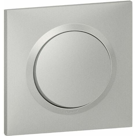 Interrupteur ou va-et-vient Dooxie 10A 250V - Complet - Aluminium - Legrand