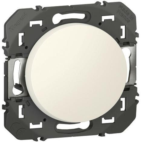 Interrupteur ou va-et-vient dooxie 10AX 250V~ finition blanc emballage blister (095200)