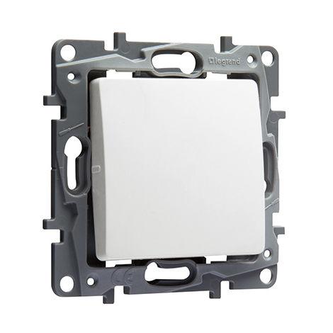 Interrupteur ou va-et-vient Niloé (emballage par 50) - 10 AX - 250 V~ - Pur