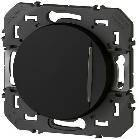 Interrupteur - Ou va-et-vient - Voyant lumineux - Dooxie - 10A - Noir - Legrand