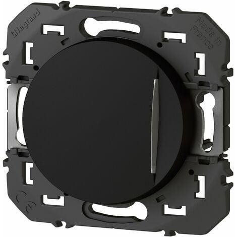 Interrupteur ou va-et-vient - Voyant témoin Dooxie 10A 250V - Noir - Legrand